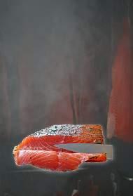 Saumons fumées artisanalement en Normandie
