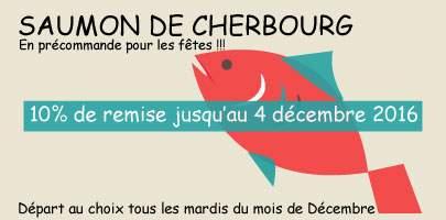 Saumons fumés de Normandie pour les fêtes de fin d'année