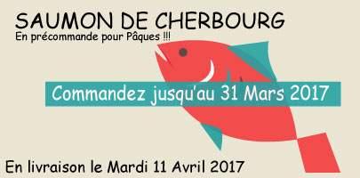 Saumons fumés de Normandie pour Pâques