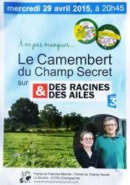 Camembert Champsecret BIO AOC