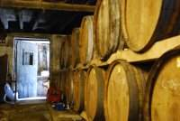 Cave de vieilisement de l'alcool calvados