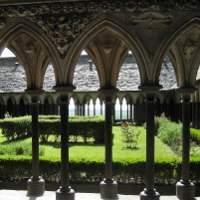 Le cloitre du mont Saint-Michel