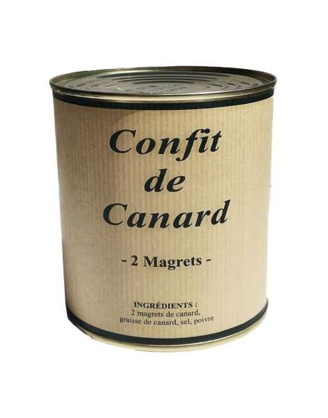 Confit de canard 2 magrets 750g