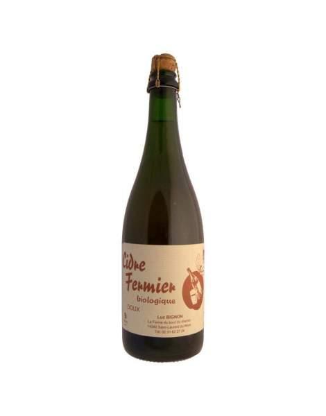 Cidre Doux Fermier BIGNON 75cl - 2,5%vol