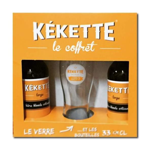 Petit coffret bière Kekette blonde