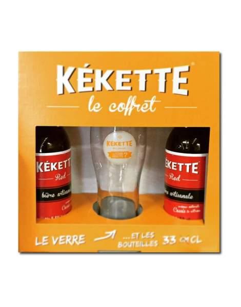 Petit coffret bière Kekette Red