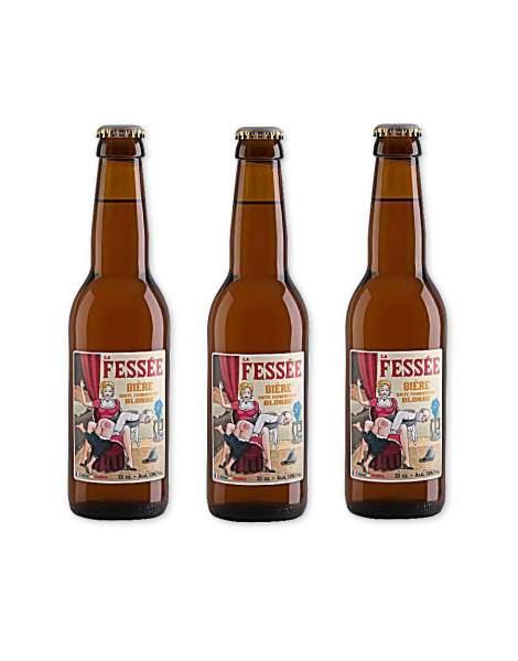 La fessée bière blonde 7.2° 33cl par 3