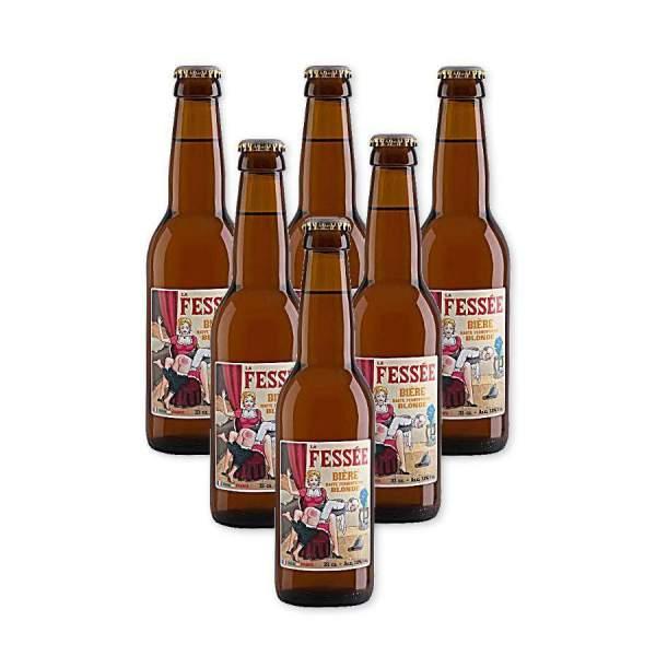 Fessée bière blonde 7.2° 33cl par 6