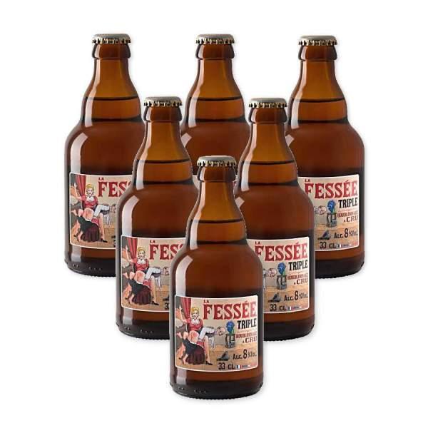 Fessée triple bière blonde 7.2° 33cl par 6
