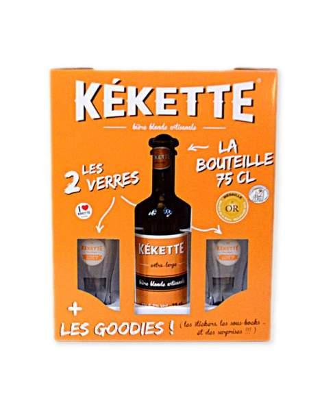 Coffret cadeau bière Kékette