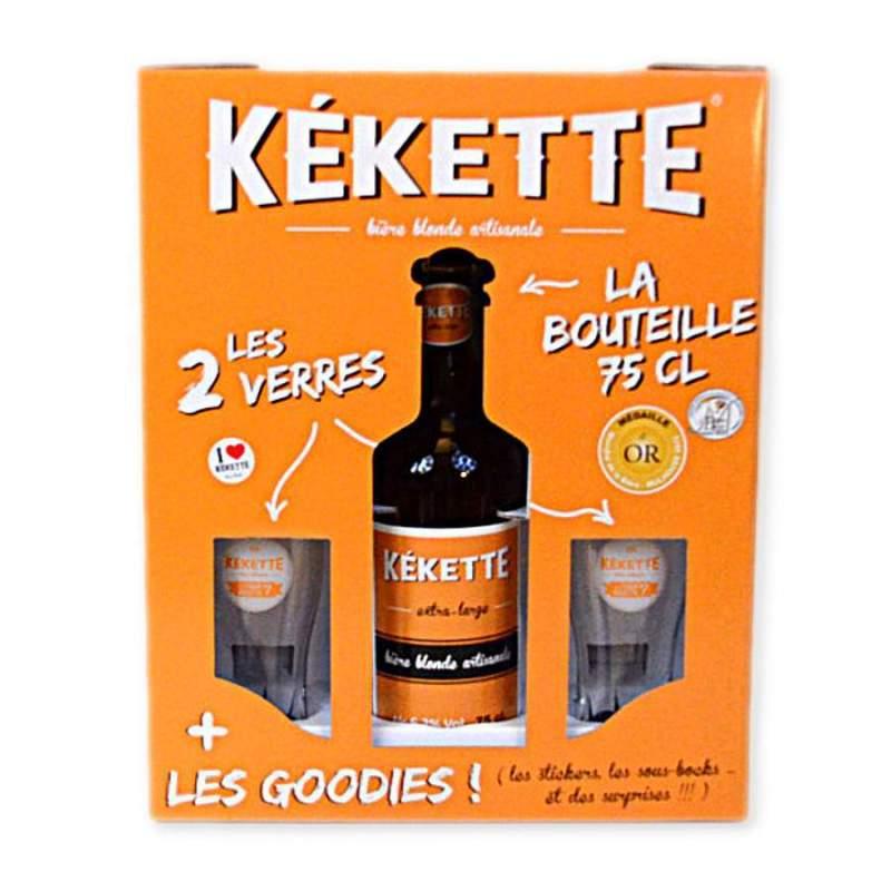 Coffret cadeau bi re k kette - Coffret verre a biere ...