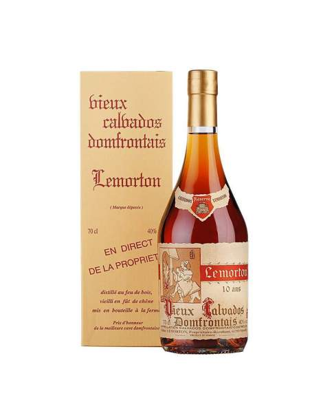 Calvados Lemorton 10 ans 40%vol 70cl