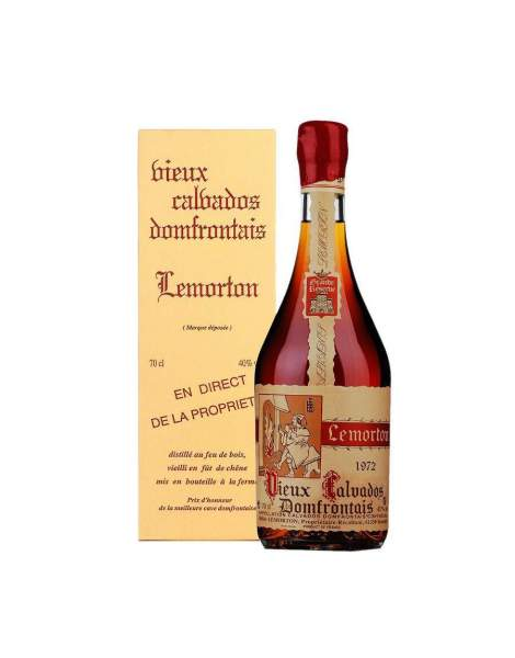 Calvados Millésime 1972 Lemorton 40% 70cl