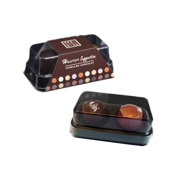 Coffret 2 chocolats XO Calvados