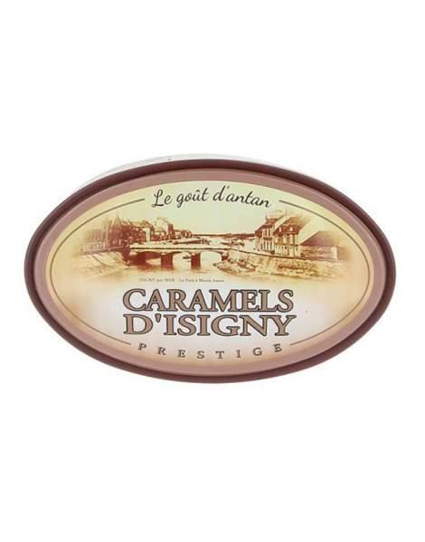 Caramels assortiments boîte fer Prestige 250g