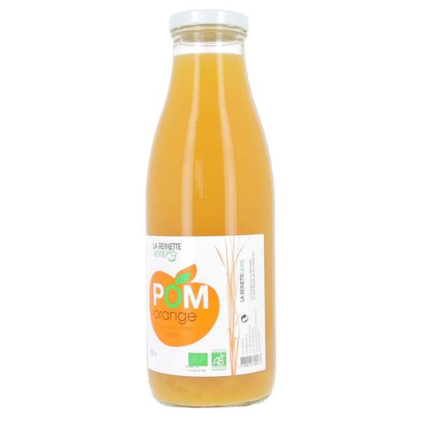 Jus de pomme orange bio 75cl