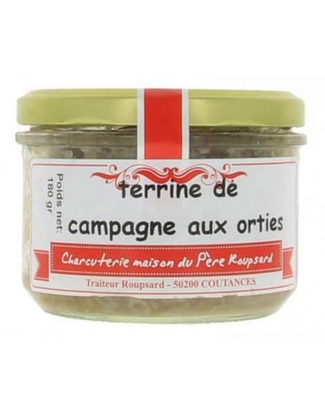 Terrine de Campagne aux orties 180g