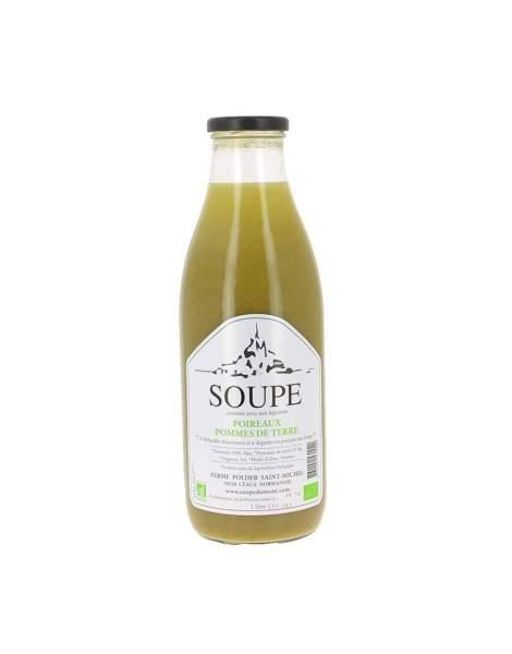 Soupe poireaux et pommes de terre bio 1 L
