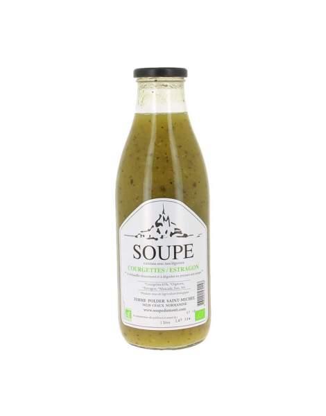 Soupe courgettes et estragon bio 1L