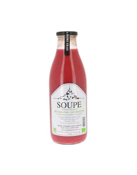 Soupe betteraves courgettes bio 1L