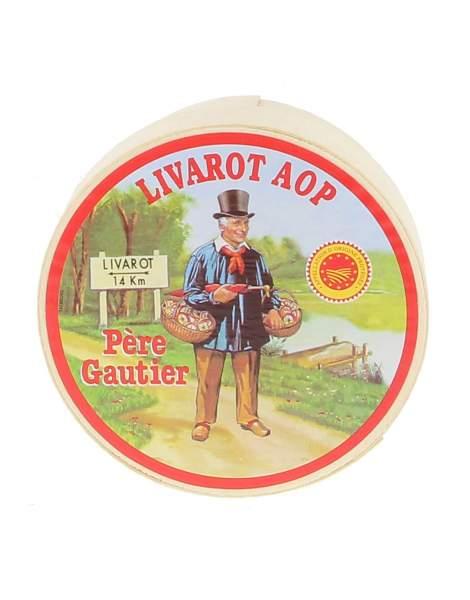 AOP petit Livarot Père Gautier 250g