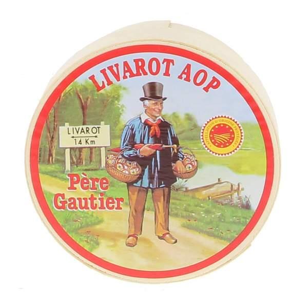 AOP petit Livarot Père Gautier