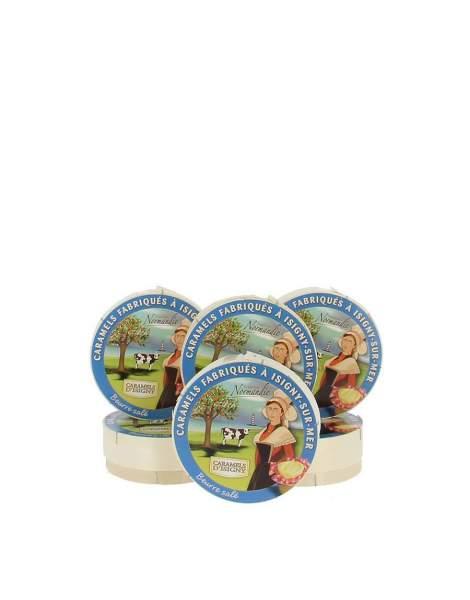 Caramels d'Isigny boite camembert 75g par 3