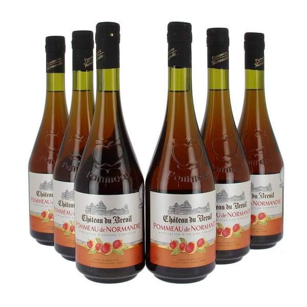 Pommeau de Normandie Breuil 17% 70cl par 3