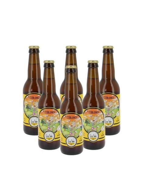 Bière de la Lie Au près de ma blonde 6% 33cl par 6