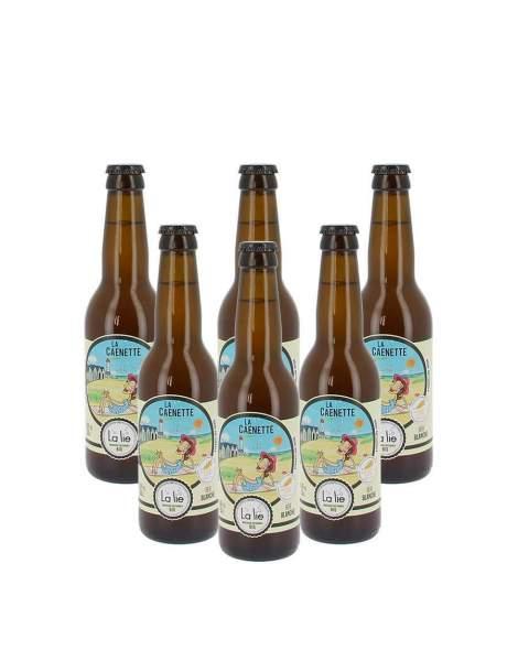 Bière de la Lie blanche la Caennette 4.5% 33cl par 3