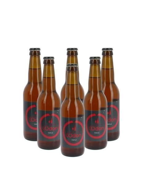Bière de l'Odon triple 6.2% 33cl par 6