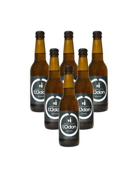 Bière de l'Odon blanche 6.2% 33cl par 6