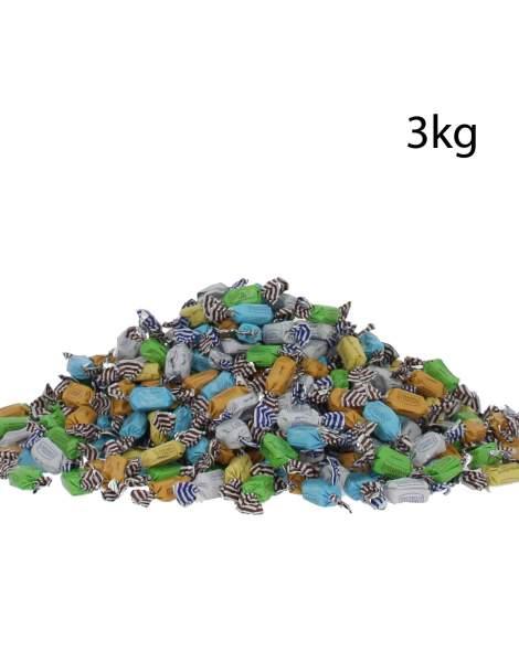 Caramels d'Isigny en vrac assortiments 3kg