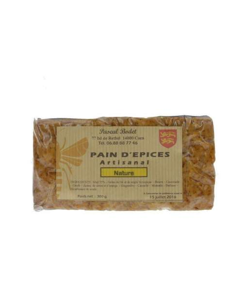 Pain d'épices nature 300g