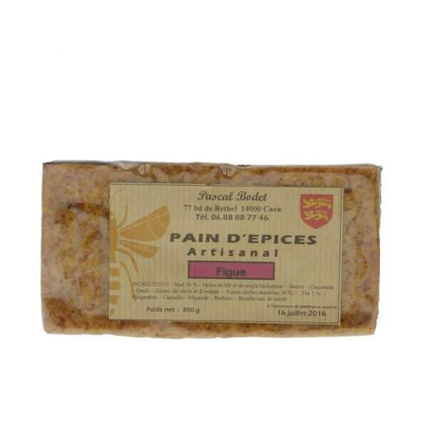 Pain d'épices aux figues 300g