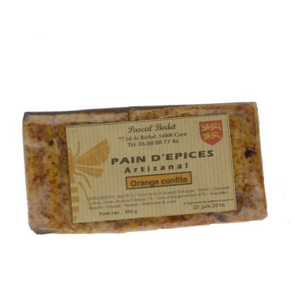 Pain d'épices à l'orange confite 300g