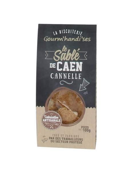 Sablé de Caen cannelle 100 g Gourm'handi'ses