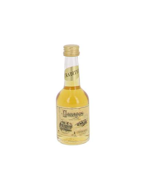 Calvados HUET Tradition 40%vol mignonnette 5cl
