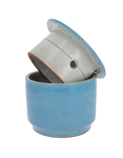 Beurrier conservateur bleu clair 500g