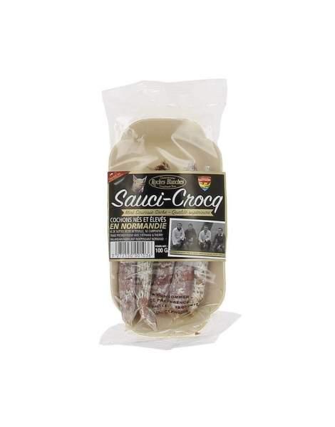 Saucicroq mini-saucisse sèche pur porc 100g
