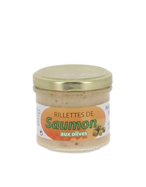 Rillettes saumon aux olives 90 gr