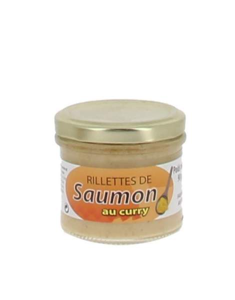 Rillettes de saumon au curry 90 gr