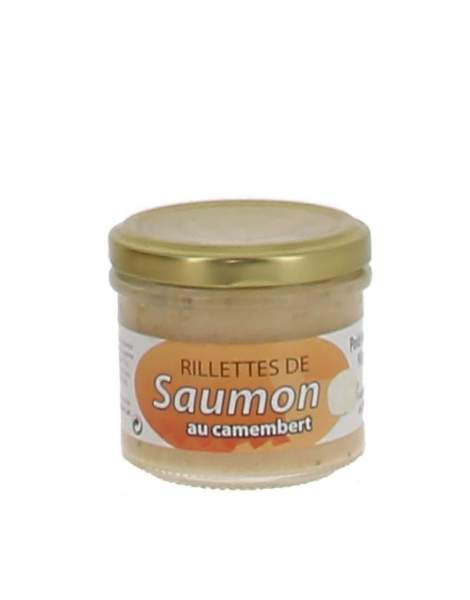 Rillettes de saumon au camembert 90 gr