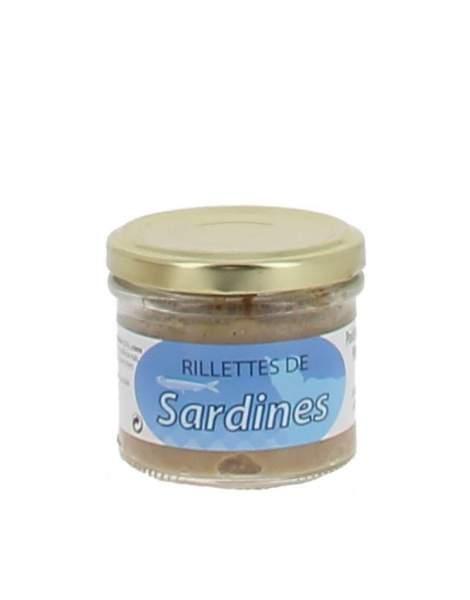 Rillettes de sardines 90g