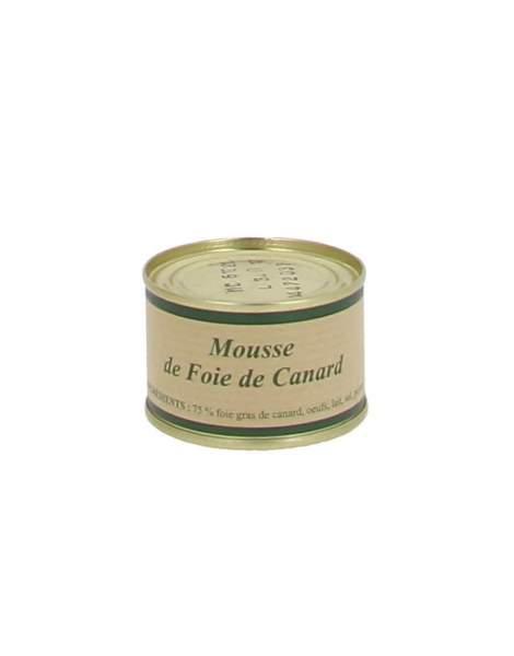 Mousse de foie gras de canard Livet 65g