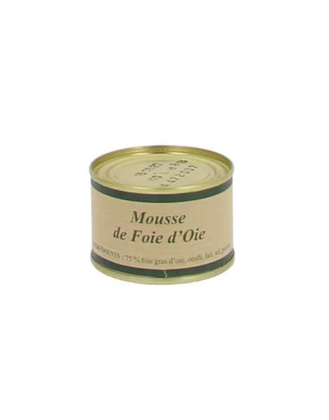 Mousse de foie gras d'oie 65g