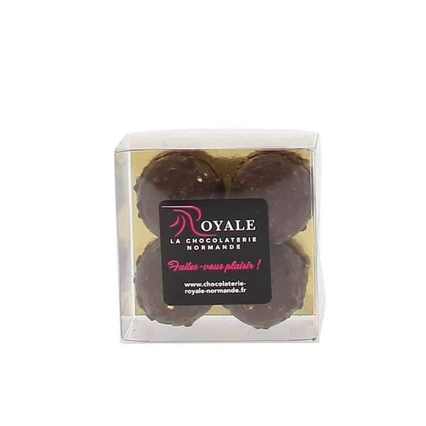 Etui 4 rochers chocolat noir
