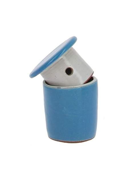 Beurrier conservateur bleu clair 105g