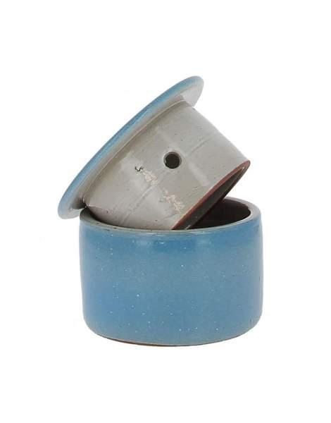 Beurrier conservateur bleu clair 210g