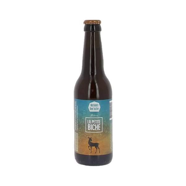 Bière blonde Petite Biche 6% 33cl